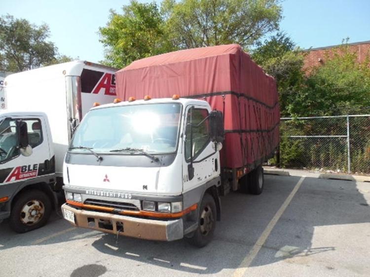 Medium Duty Box Truck-Light and Medium Duty Trucks-Mitsubishi-1998-FE125-FRANKLIN PARK-IL-168,420 miles-$6,250