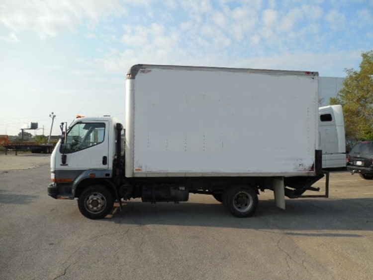 Medium Duty Box Truck-Light and Medium Duty Trucks-Mitsubishi-1999-FE125-FRANKLIN PARK-IL-162,159 miles-$6,750