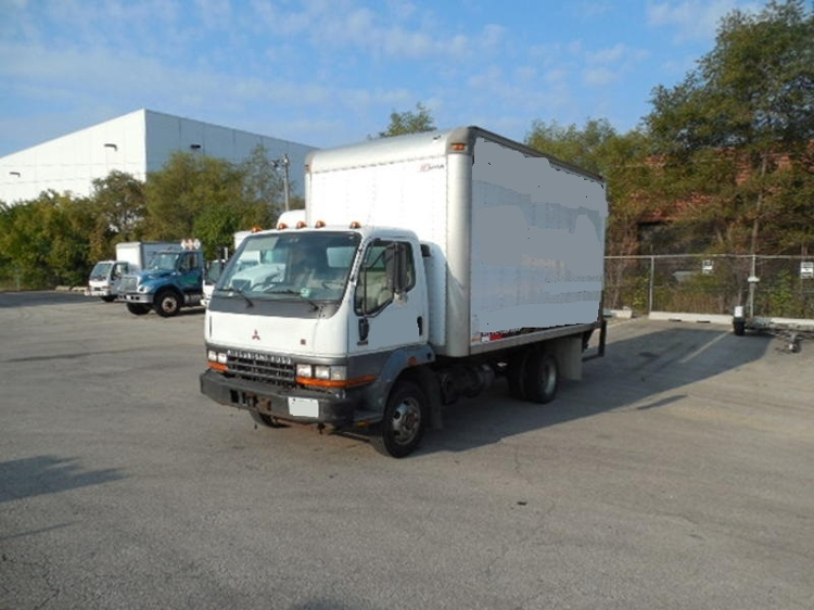 Medium Duty Box Truck-Light and Medium Duty Trucks-Mitsubishi-2000-FH211-ROCKFORD-IL-184,145 miles-$9,200