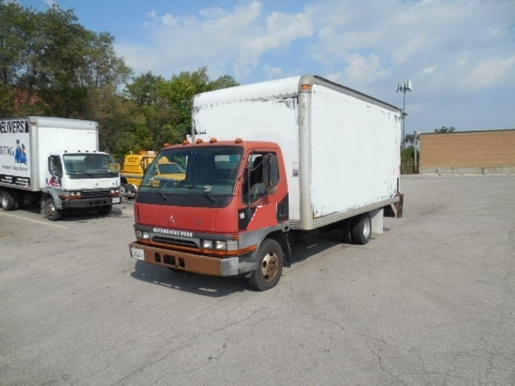 Flatbed Truck-Light and Medium Duty Trucks-Mitsubishi-2003-FE125-FRANKLIN PARK-IL-285,436 miles-$3,000