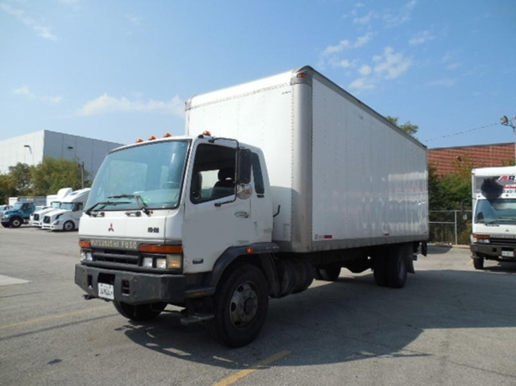 Medium Duty Box Truck-Light and Medium Duty Trucks-Mitsubishi-2006-FE140-ROCKFORD-IL-168,265 miles-$8,750
