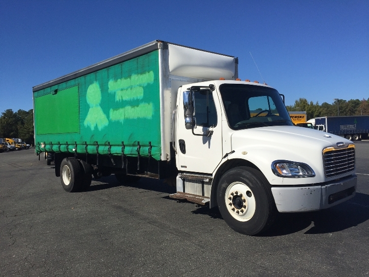 Medium Duty Box Truck-Heavy Duty Tractors-Freightliner-2007-M2-SANDSTON-VA-371,112 miles-$18,250