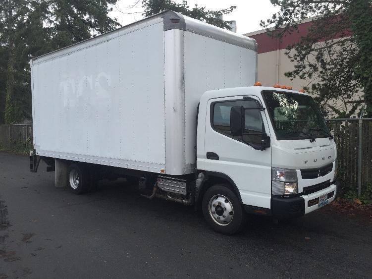 Medium Duty Box Truck-Light and Medium Duty Trucks-Mitsubishi-2012-FE140-KENT-WA-199,658 miles-$7,000