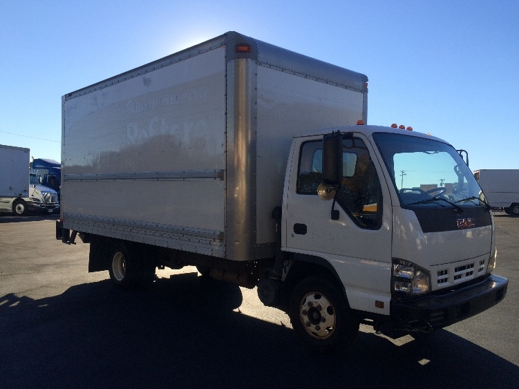 Medium Duty Box Truck-Light and Medium Duty Trucks-GMC-2007-W4500-MEBANE-NC-158,798 miles-$16,500
