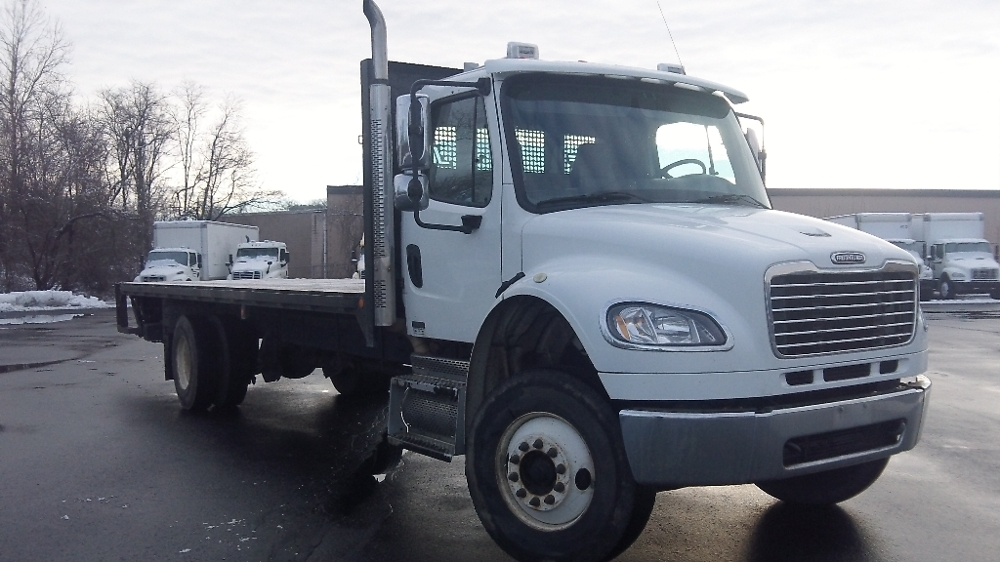 Flatbed Truck-Light and Medium Duty Trucks-Freightliner-2008-M2-FITCHBURG-MA-183,218 miles-$24,750