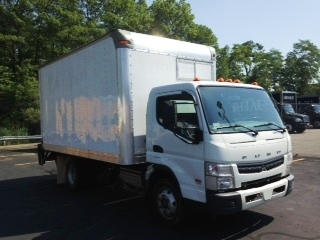 Medium Duty Box Truck-Light and Medium Duty Trucks-Mitsubishi-2012-FE160-BRAINTREE-MA-124,475 miles-$17,500