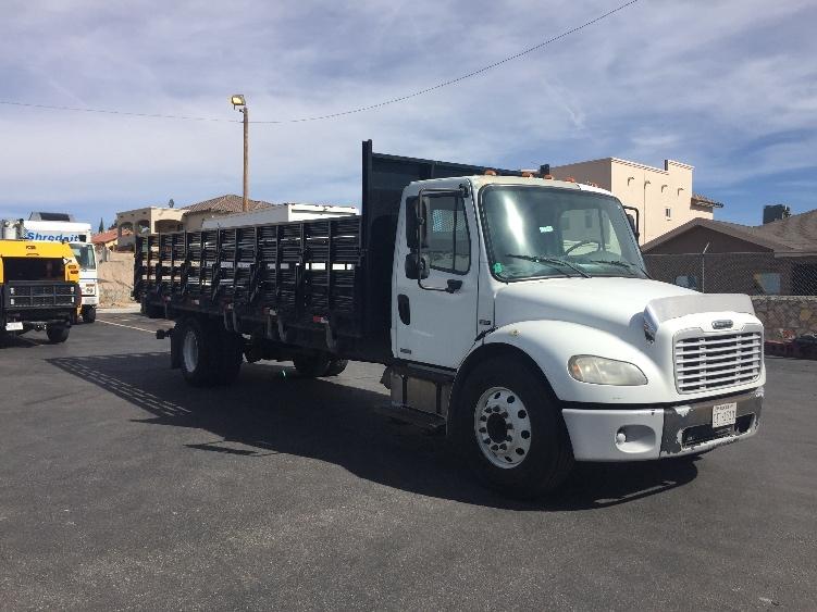 Flatbed Truck-Light and Medium Duty Trucks-Freightliner-2007-M2-EL PASO-TX-279,299 miles-$12,500