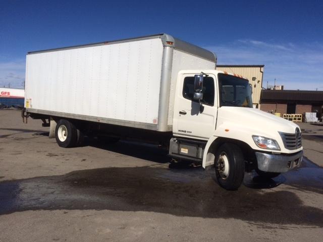 Medium Duty Box Truck-Light and Medium Duty Trucks-Hino-2010-268-CALGARY-AB-201,069 km-$36,500