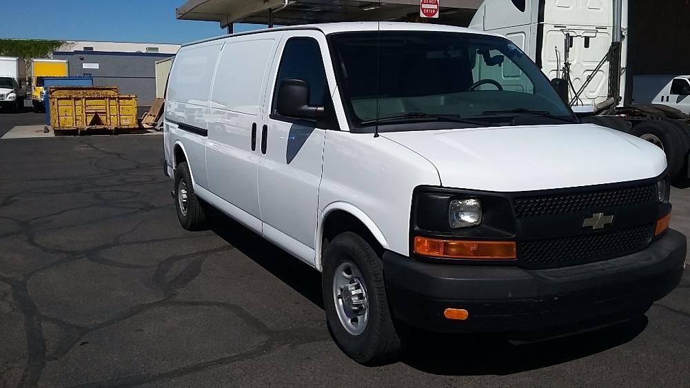 Cargo Van (Panel Van)-Light and Medium Duty Trucks-Chevrolet-2011-EXPRESS-PHOENIX-AZ-214,058 miles-$7,250