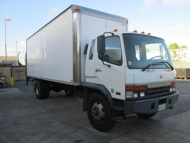 Medium Duty Box Truck-Light and Medium Duty Trucks-Mitsubishi-1997-FM617-SANTA ANA-CA-213,276 miles-$5,000