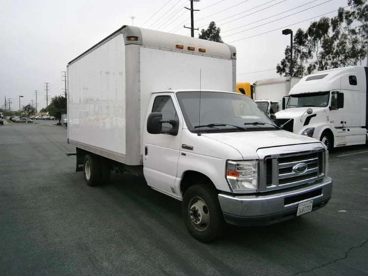 Medium Duty Box Truck-Light and Medium Duty Trucks-Ford-2012-E350-LA MIRADA-CA-291,722 miles-$8,750