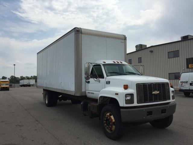 Medium Duty Box Truck-Light and Medium Duty Trucks-GMC-2001-C7H042-WAUKEGAN-IL-289,078 miles-$9,250