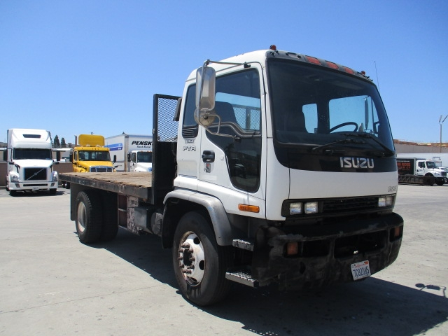 Flatbed Truck-Light and Medium Duty Trucks-Isuzu-2001-FTR-ANAHEIM-CA-103,445 miles-$12,000