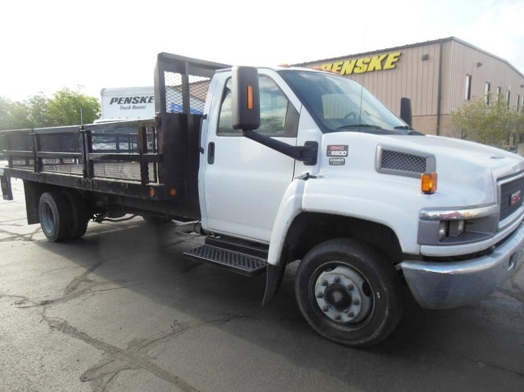 Flatbed Truck-Light and Medium Duty Trucks-GMC-2008-C5500-AUSTIN-TX-135,772 miles-$7,500