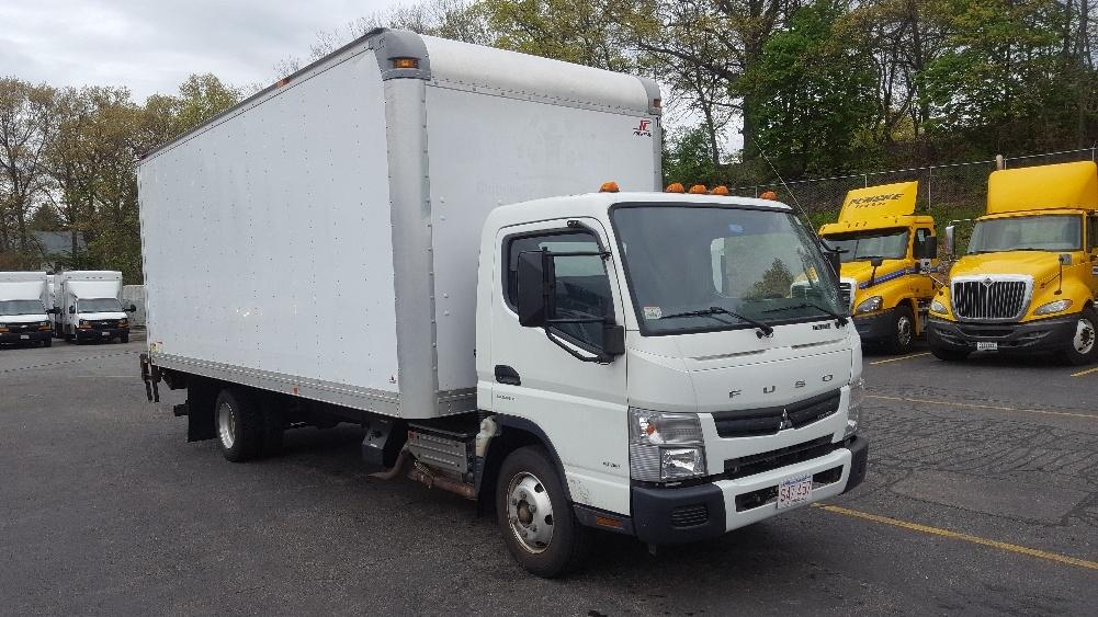 Medium Duty Box Truck-Light and Medium Duty Trucks-Mitsubishi-2013-FE160-LAWRENCE-MA-89,527 miles-$23,000