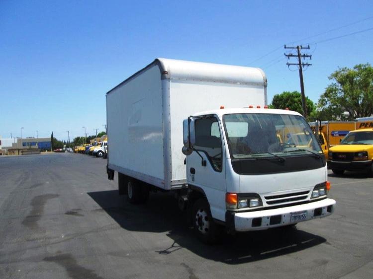 Medium Duty Box Truck-TRUCK-Isuzu-2005-NPR-SANTA ANA-CA-154,450 miles-$15,750