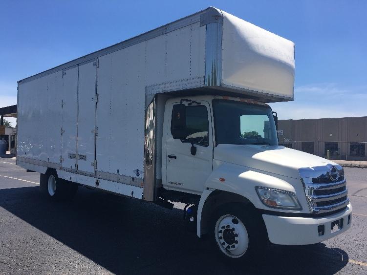 Medium Duty Box Truck-Light and Medium Duty Trucks-Hino-2011-268-EARTH CITY-MO-128,456 miles-$38,750