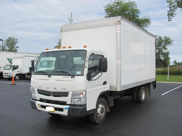 Medium Duty Box Truck-Light and Medium Duty Trucks-Mitsubishi-2012-FE160-BUFFALO-NY-116,150 miles-$33,250