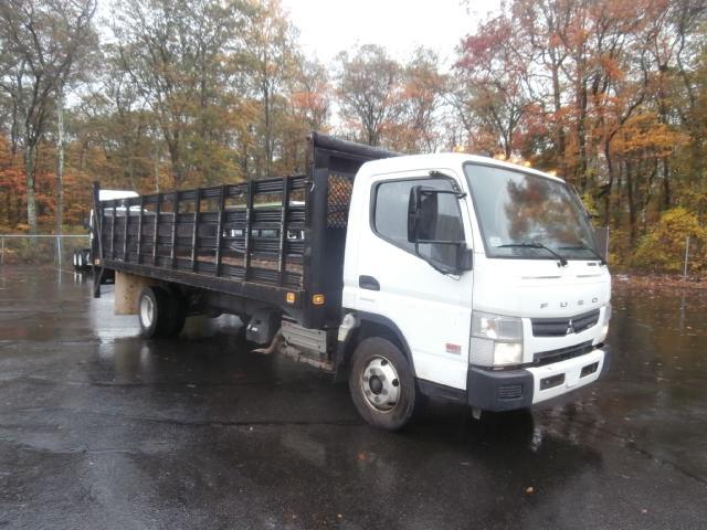 Flatbed Truck-Light and Medium Duty Trucks-Mitsubishi-2013-FE160-BRAINTREE-MA-109,042 miles-$30,250