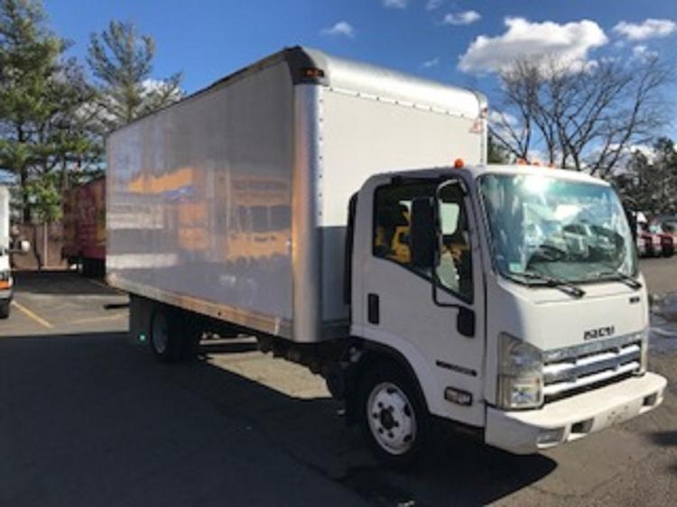 Medium Duty Box Truck-Light and Medium Duty Trucks-Isuzu-2008-NQR-MEDFORD-MA-105,904 miles-$17,500