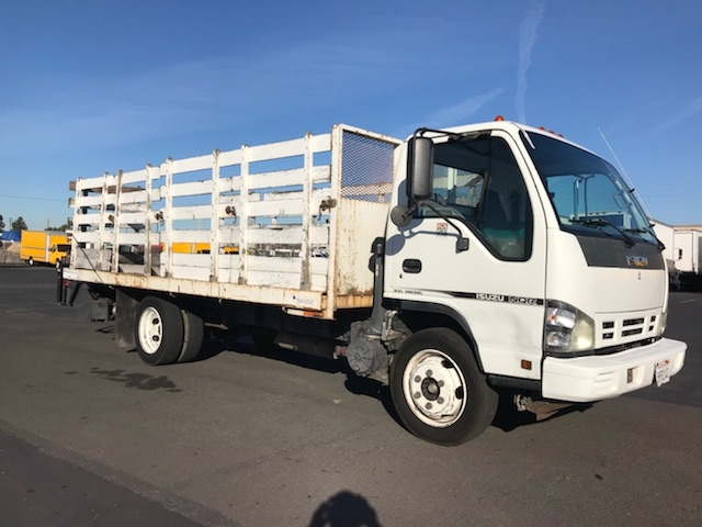 Flatbed Truck-Light and Medium Duty Trucks-Isuzu-2007-NQR-TORRANCE-CA-159,651 miles-$19,000