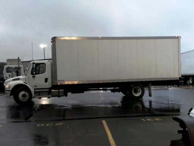 Medium Duty Box Truck-Light and Medium Duty Trucks-Freightliner-2014-M2-ELKHART-IN-86,929 miles-$51,750