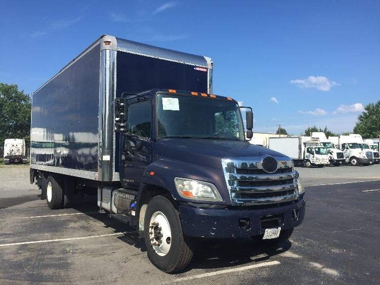 Medium Duty Box Truck-Light and Medium Duty Trucks-Hino-2011-268-CHARLOTTE-NC-77,792 miles-$43,250