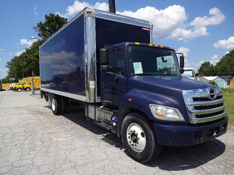 Medium Duty Box Truck-Light and Medium Duty Trucks-Hino-2011-268-CONYERS-GA-83,684 miles-$39,500