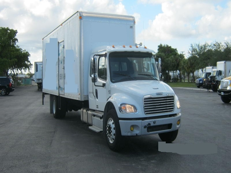 Medium Duty Box Truck-Heavy Duty Tractors-Freightliner-2011-M2-RIVIERA BEACH-FL-83,580 miles-$43,750