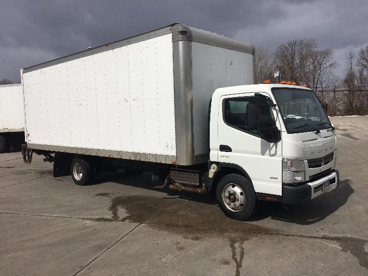 Medium Duty Box Truck-Light and Medium Duty Trucks-Mitsubishi-2014-FE180-HARTFORD-CT-149,072 miles-$19,500