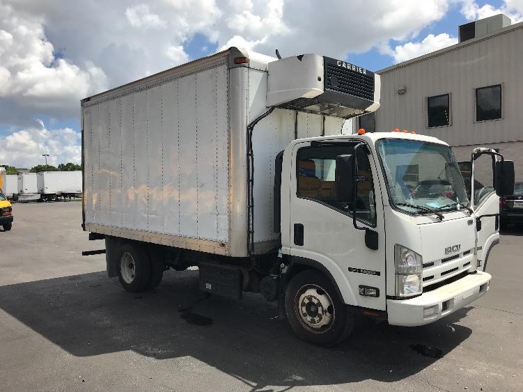 Reefer Truck-Light and Medium Duty Trucks-Isuzu-2013-NQR-MEDLEY-FL-94,166 miles-$26,750