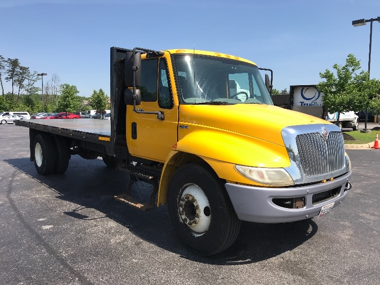 Flatbed Truck-Light and Medium Duty Trucks-International-2009-4300-JESSUP-MD-177,291 miles-$22,750