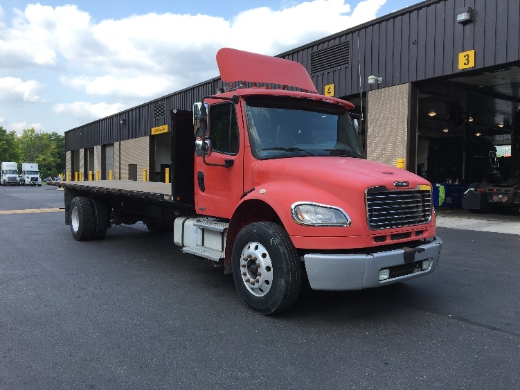 Flatbed Truck-Light and Medium Duty Trucks-Freightliner-2008-M2-READING-PA-343,748 miles-$19,250