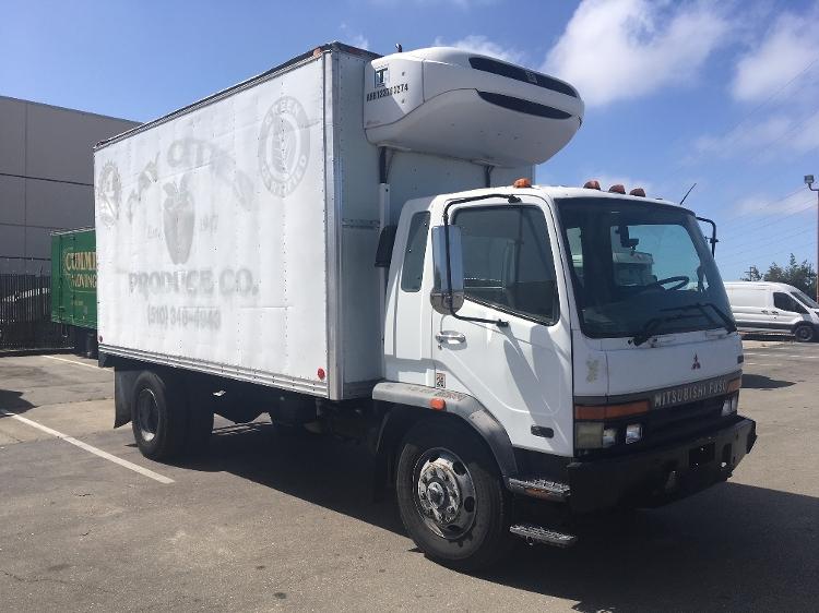 Reefer Truck-Light and Medium Duty Trucks-Mitsubishi-1999-FM617-SAN LEANDRO-CA-310,576 miles-$6,250