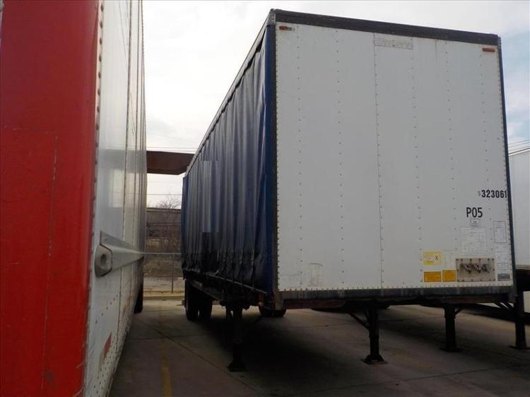 Dry Van Trailer-Semi Trailers-Utility-1991-Trailer-DALLAS-TX-0 miles-$4,500