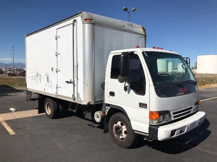 Medium Duty Box Truck-Light and Medium Duty Trucks-GMC-2004-W4500-DENVER-CO-182,960 miles-$7,750