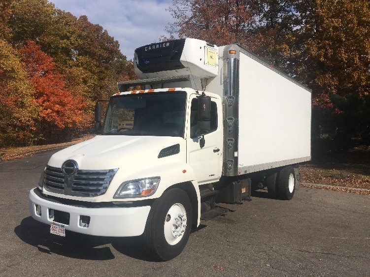 Reefer Truck-Light and Medium Duty Trucks-Hino-2008-268-FRAMINGHAM-MA-214,423 miles-$16,500