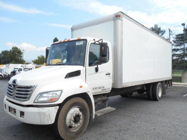 Medium Duty Box Truck-Light and Medium Duty Trucks-Hino-2008-268-NEW CASTLE-DE-153,488 miles-$22,000