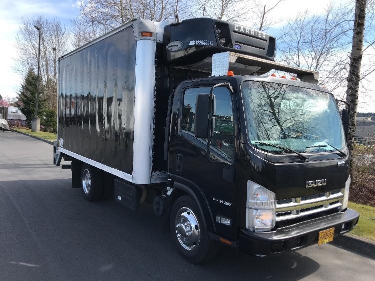 Reefer Truck-Light and Medium Duty Trucks-Isuzu-2012-NQR-CLACKAMAS-OR-216,875 miles-$28,000
