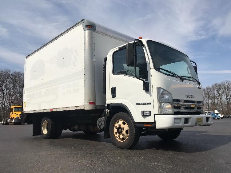 Medium Duty Box Truck-Light and Medium Duty Trucks-Isuzu-2009-NPR-BURLINGTON-NJ-107,852 miles-$17,000