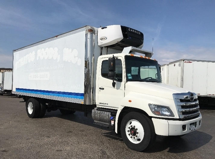 Reefer Truck-Light and Medium Duty Trucks-Hino-2015-338-ELK GROVE VILLAGE-IL-155,933 miles-$43,000