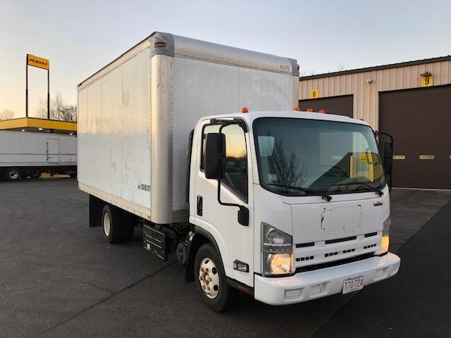 Medium Duty Box Truck-Light and Medium Duty Trucks-Isuzu-2011-NPR-CHICOPEE-MA-112,402 miles-$19,750
