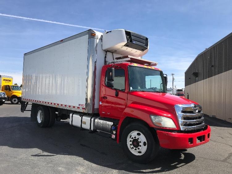 Reefer Truck-Light and Medium Duty Trucks-Hino-2012-268-EL PASO-TX-342,385 miles-$24,500