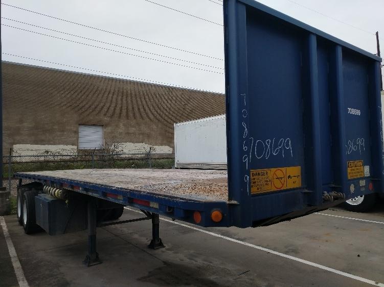 Flatbed Trailer-Semi Trailers-Lufkin-2008-Trailer-GARLAND-TX-0 miles-$11,000