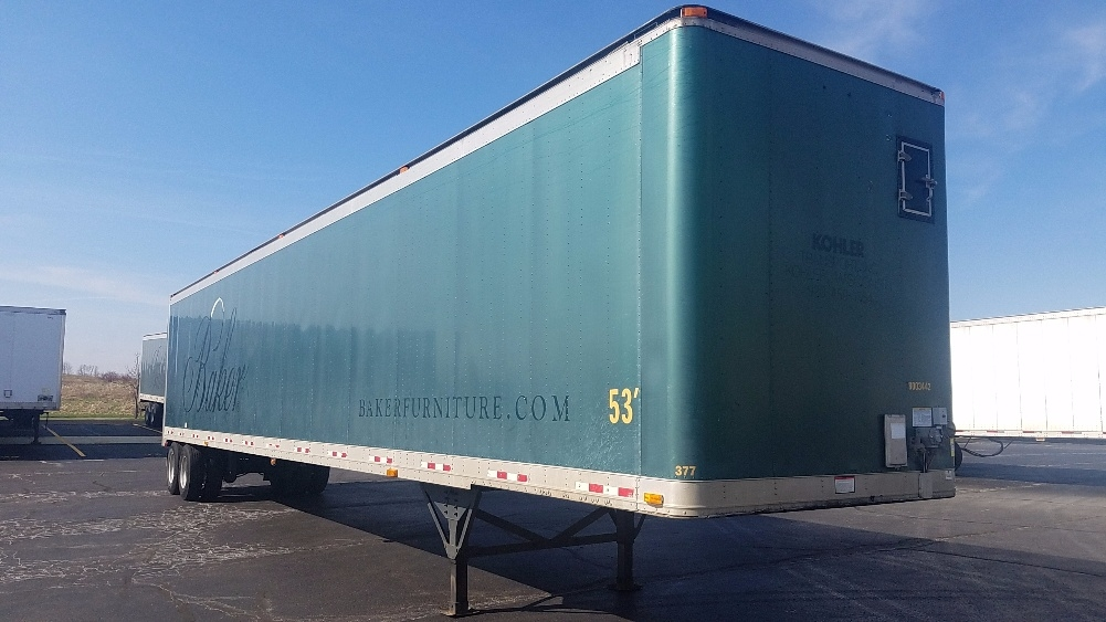 Dry Van Trailer-Semi Trailers-Great Dane-2003-Trailer-SHEBOYGAN-WI-289,314 miles-$7,750