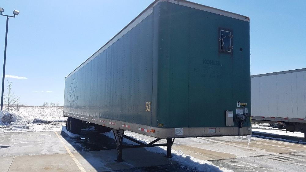 Dry Van Trailer-Semi Trailers-Great Dane-2003-Trailer-SHEBOYGAN-WI-137,198 miles-$9,750