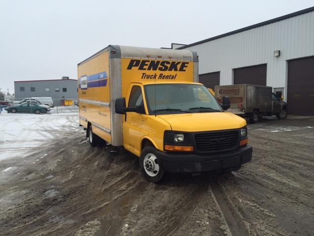 Light Duty Box Truck-Light and Medium Duty Trucks-GMC-2012-Savana G33903-EDMONTON-AB-178,641 km-$20,250