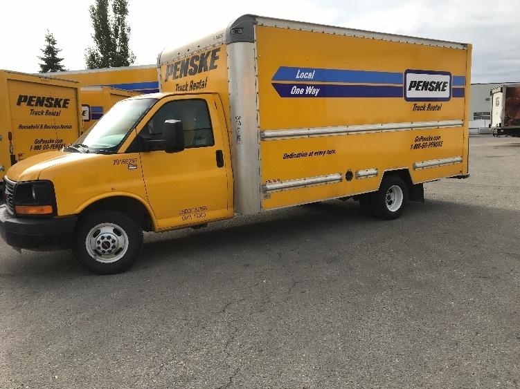 Light Duty Box Truck-Light and Medium Duty Trucks-GMC-2014-Savana G33903-EDMONTON-AB-102,888 km-$29,250
