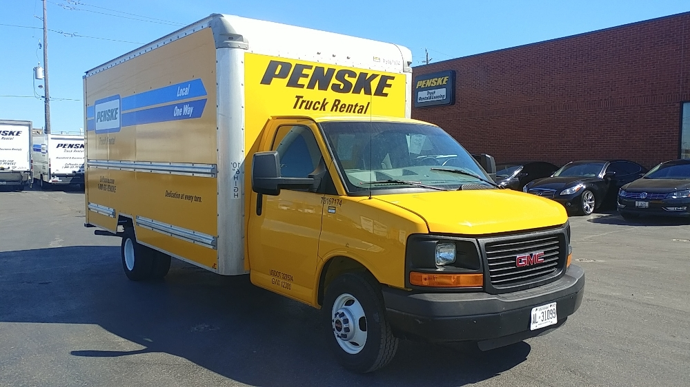 Light Duty Box Truck-Light and Medium Duty Trucks-GMC-2014-Savana G33903-MISSISSAUGA-ON-100,905 km-$25,250