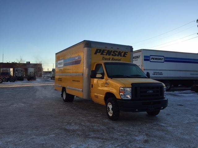 Light Duty Box Truck-Light and Medium Duty Trucks-Ford-2011-E350-EDMONTON-AB-165,579 km-$19,250
